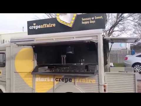 CrepeAffaire ~ Hvan converted to a Creperie Catering Van