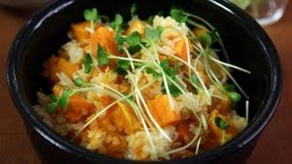 Sweet potato rice (Gogumabap: 고구마밥)