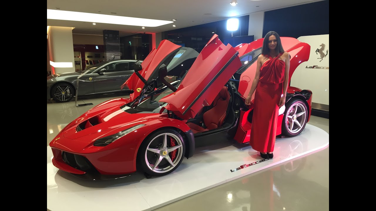 Ferrari Laferrari Exclusive Party Youtube