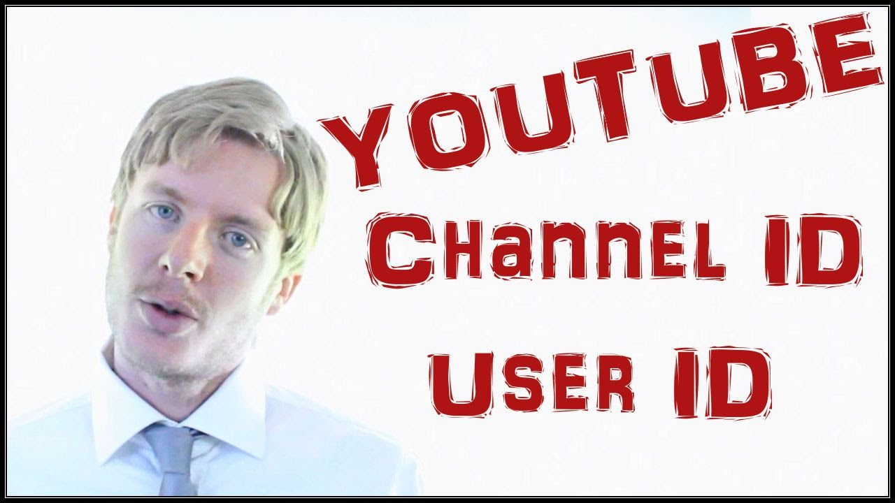 how to get channel id youtube