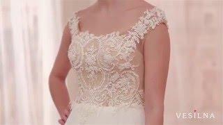 Свадебное платье 2016 года от VESILNA™ модель 3065