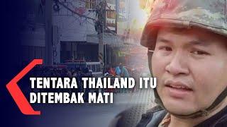 TERKINI! Tentara Thailand Pelaku Penembakan Massal Ditembak Mati