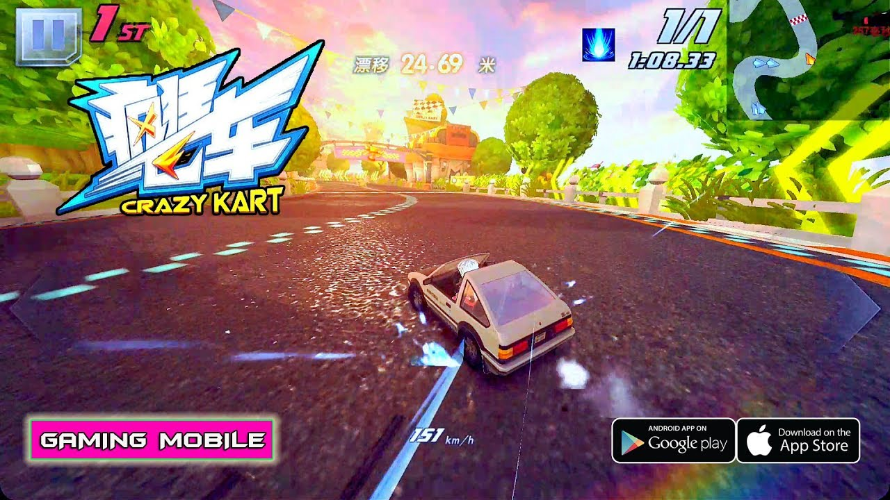 Crazy kart review and download.
