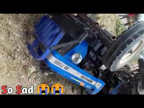 sonalika-750-sikander-पलट-गया-||accident||