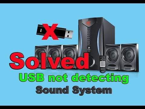 How To Fix USB(Pen Drive & SD Card) Not Detecting In Your Sound System