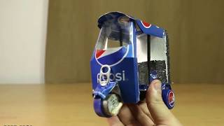 How to Make a Electric Rickshaw out of Pepsi Cans