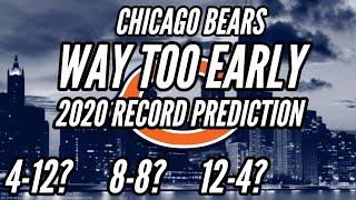 WAY TOO EARLY Chicago Bears 2020 Season Record Prediction