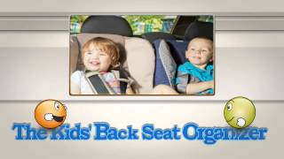 Back Seat Organizer For Kids