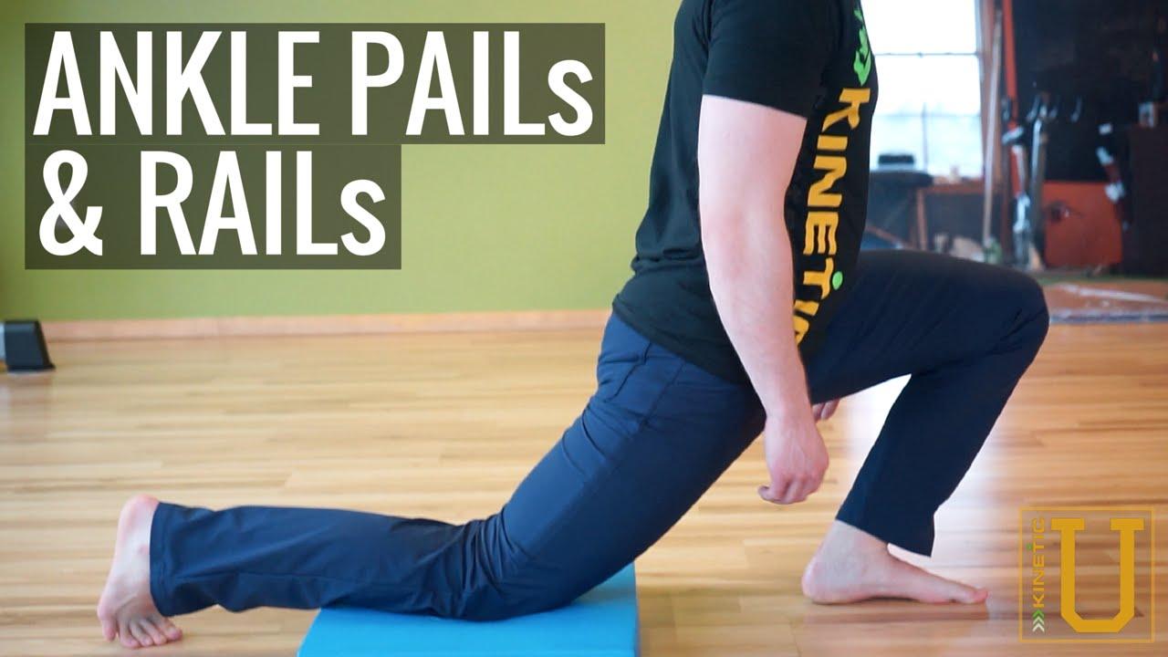 ankle pails & rails - kinetic sports rehab - youtube