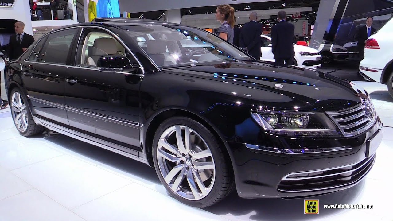 2015 volkswagen phaeton exclusive v6 tdi exterior and interior walkaround 2014 paris auto. Black Bedroom Furniture Sets. Home Design Ideas