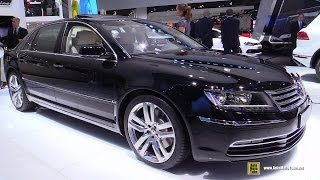 2015 Volkswagen Phaeton Exclusive V6 TDI - Exterior and Interior Walkaround - 2014 Paris Auto Show