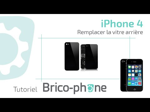 tutoriel changer vitre arriere iphone 4 youtube. Black Bedroom Furniture Sets. Home Design Ideas