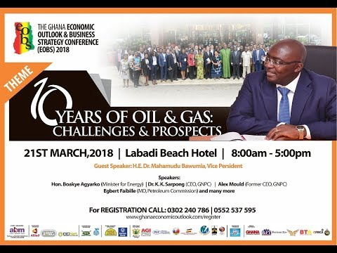 The Ghana Economic Outlook & Business Strategy Conference (EOBS) 2018 Video Advert Final