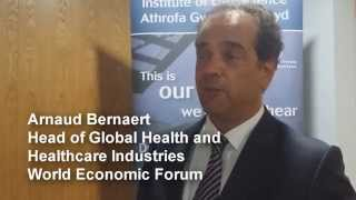 World Economic health leader supports ARCH Wales