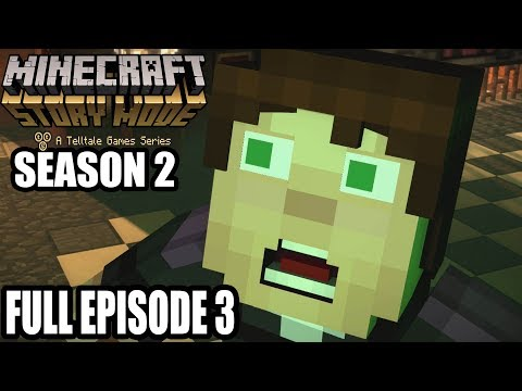 Minecraft Story Mode Season 2 Episode 2 Choose Join Petra Escape