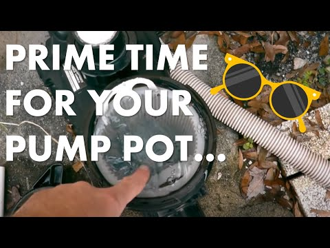 How To Prime A Swimming Pool Pump - Very Easy