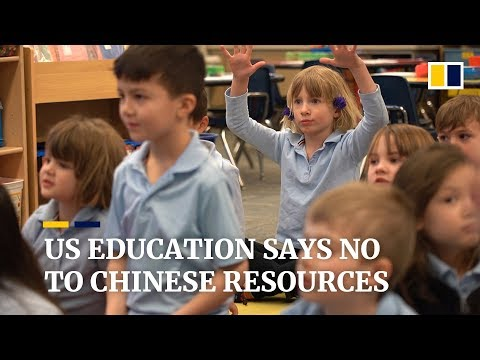 US education says no to Chinese resources