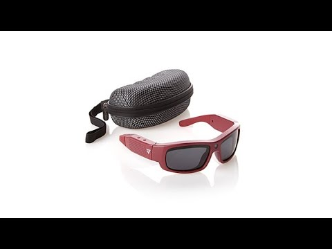 govision hd 1080p video sunglasses w/case and