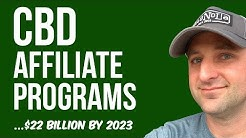 Best CBD Affiliate Programs to Join In 2019