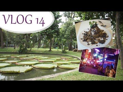 VLOG 14 -  Wat Arun, vykřičená ulice, Veganerie