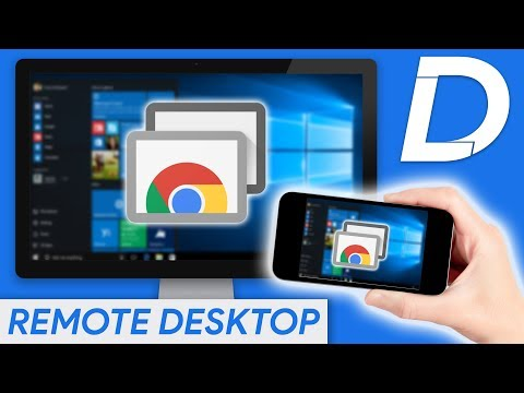 CONTROL YOUR PC FROM YOUR PHONE! Chrome Remote Desktop Tutorial & Walk-through