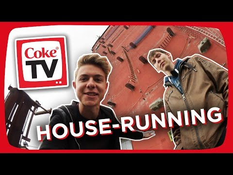 Jonas beim House-Running | #CokeTVMoment