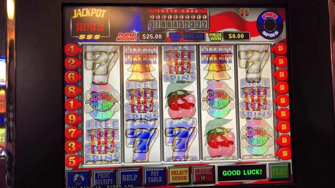 Liberty Seven Free Spin Wins Choctaw Casino Durant Ok Jb Elah