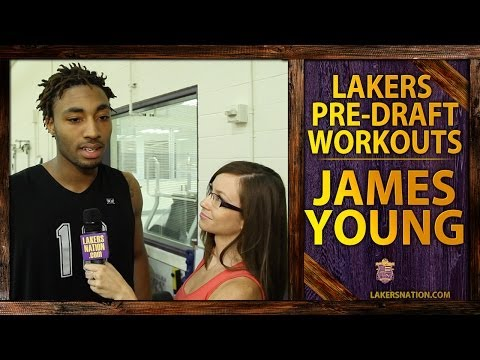 Lakers Pre-Draft Workout: James Young