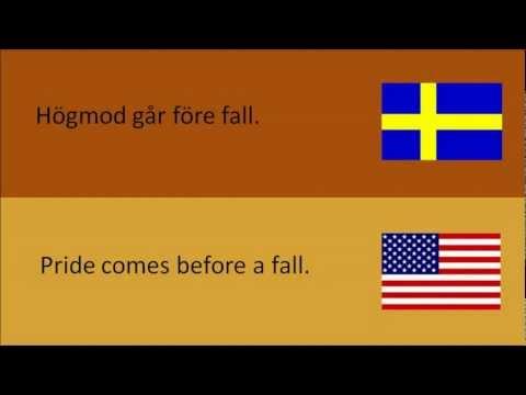svenska talesätt på engelska