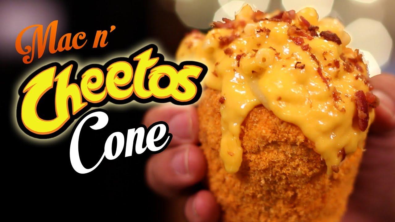 Diy Mac N Cheetos Cone Youtube