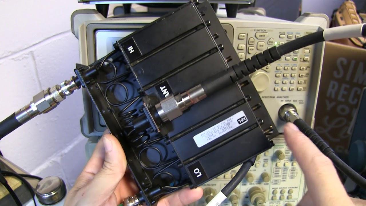 #270: Tune a Duplexer with a Spectrum Analyzer + Tracking Gen or VNA
