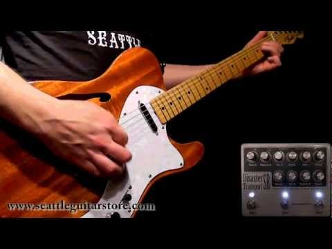 EarthQuaker Devices Disaster Transport SR demo for the Seattle Guitar Store