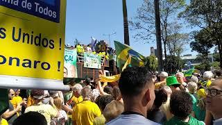 Manifestação em Belo Horizonte em 26/05/2019