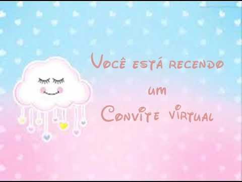 Convite Virtual Chuva De Amor Youtube