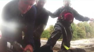 kayaking aysgarth falls ambulance edit