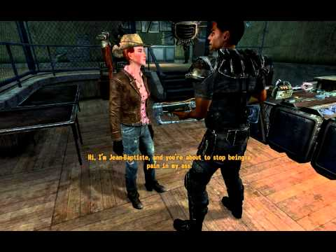 Fallout: New Vegas - Cass dies at the Silver Rush