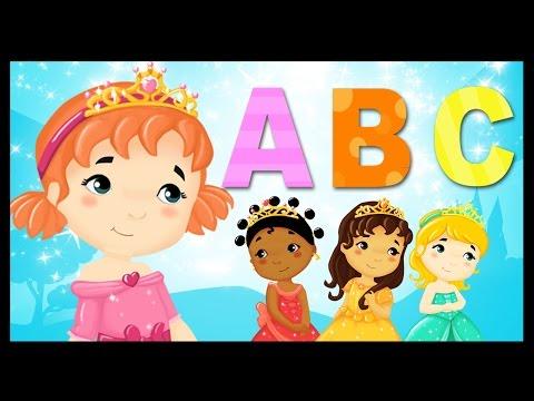 L'alphabet des petites princesses du monde - Apprendre en chanson - Titounis