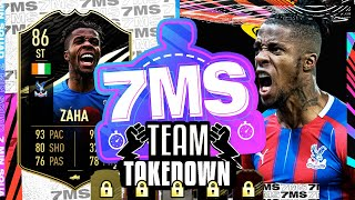 SIF ZAHA!! 7 MINUTE TEAM TAKEDOWN VS @CapgunTom !! - FIFA 21 ULTIMATE TEAM