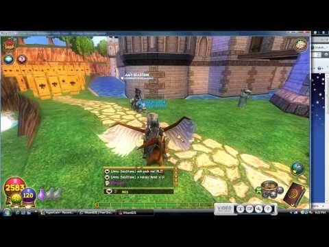 Wizard101: How To Get Open Chat!!