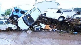 Heavy rains, floods kill at least eight on Spain's Mallorca