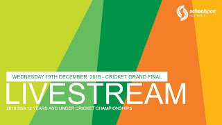 2018 SSA 12&U Cricket Championships: Boys Grand Final