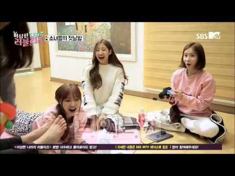 Lovelyz Jisoo Sofa Magic @ Lovelyz In Wonderland