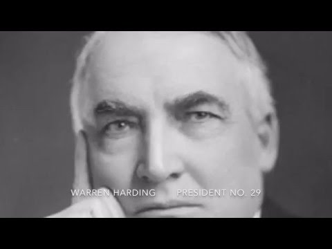Warren Harding no.29  SCANDAL