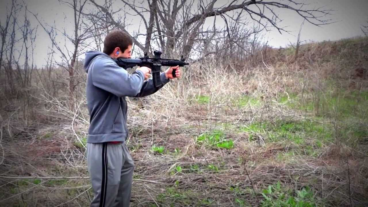 Full Auto AR15 with RDIAS - Me and some friends shooting