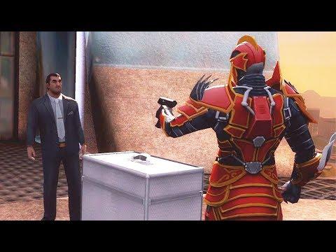 Gangstar Vegas - Red Dragon Armor LV 3 VS FRANK (Final Mission)