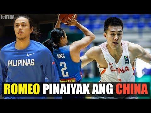 Terrence Romeo TINALO ang CHINA | PH vs CHI Game Review | FIBA Asia 2017 ᴴᴰ