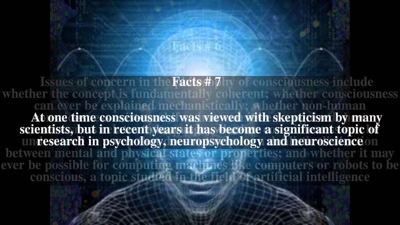 ABOUT CONSCIOUSNESS 98