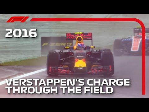 Max Verstappen's Mesmerising Drive In The Wet   2016 Brazilian Grand Prix