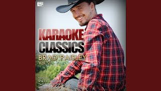 Then (In the Style of Brad Paisley) (Karaoke Version)