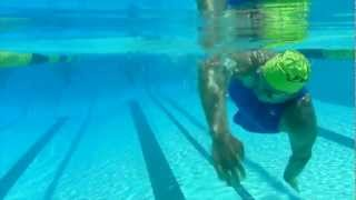 Single Arm Swim Technique for Challenged Athletes